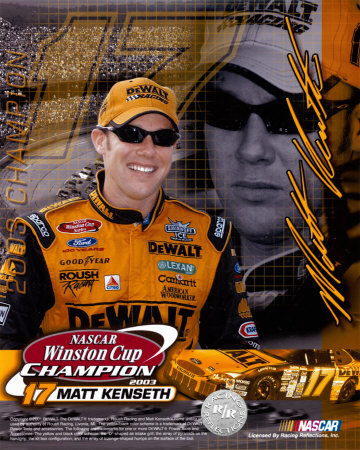 MAtt Kenseth 2003 Winston Cup Champion